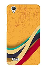 AMAN Trees 3D Back Cover for Vivo Y31L