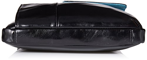 Piquadro CA1815B2 Blue Square Sac bandoulière Noir