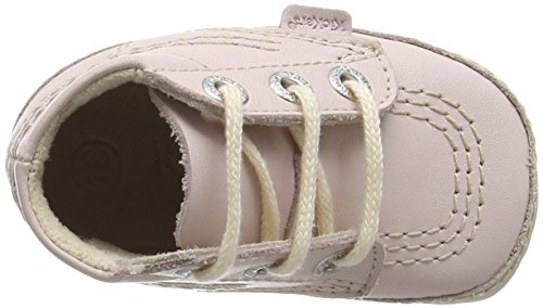 Kickers Baby Mädchen Kick Bonnie B Krabbelschuhe Rosa (Pink)