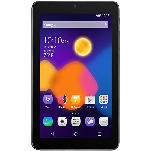 Alcatel One Touch 8055 4GB Black - tablets (Mini tablet, IEEE 802.11n, Android, Slate, Android, Black)