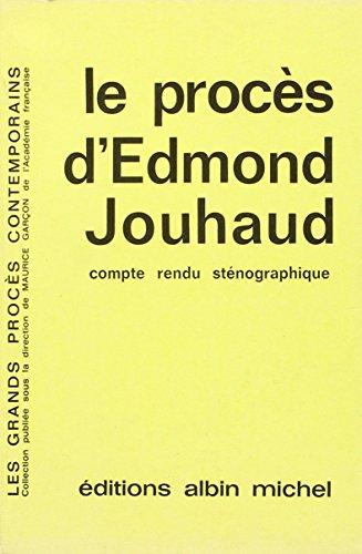 Le Procs d'Edmond Jouhaud