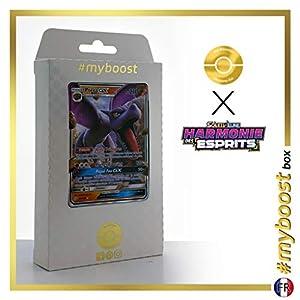 Ptéra-GX (Aerodactyl-GX) 106/236 - #myboost X Soleil & Lune 11 Harmonie des Esprits - Box de 10 cartas Pokémon Francés