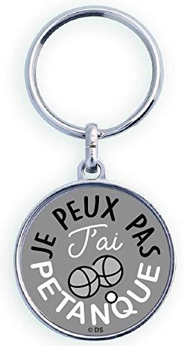 Cadox 778003V Schlüsselanhänger Je Peux Pas J'ai Petanque