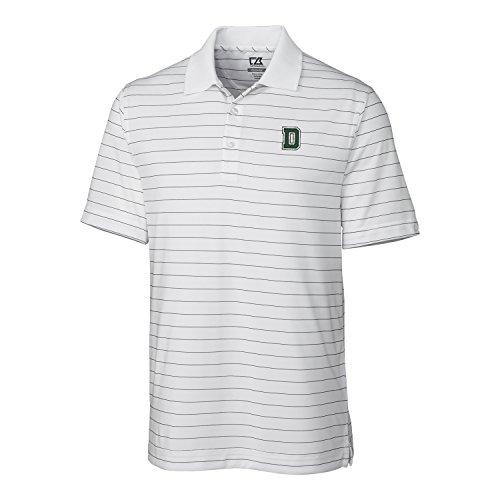 Cutter & Buck NCAA Herren CB Dry Tec Franklin Stripe Polo, Herren, CB DrytecTM Franklin Stripe Polo, weiß, XX-Large - Patagonia Herren Polo-shirt