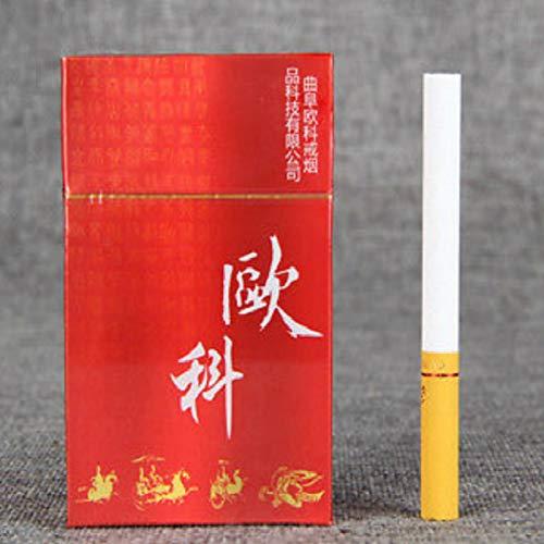 Cigarrillos de té de yunnan puerh de sin tabaco sin peso de nicotina Té de Pu'er Té verde Té de Puer Té chino Té de puter Té crudo Té de Pu-erh Árboles viejos Té de Pu erh Peso neto 30g (0.066LB)