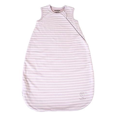 Woolino Baby Sleep Bag 4 Season Basic Merino Wool Infant Sleeping Bag 0-6 Months Lilac