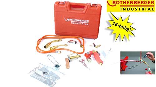 ROTHENBERGER Industrial Turbolötset 16 teilig im Koffer, Hartlöten, Weichlöten, Kapillarspaltlötung - 30900