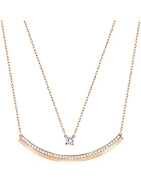 Swarovski Fresh Halskette rot plattiert 5225438