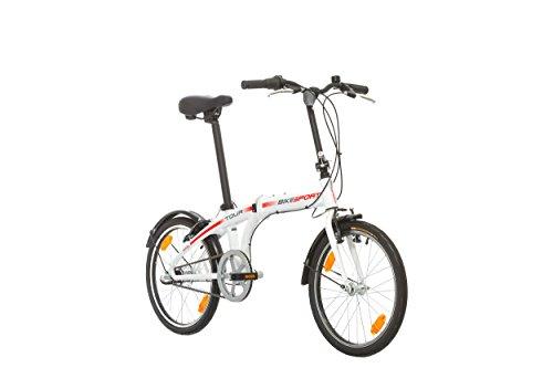Klapprad Fahrrad Bikesport TOUR 20 Zoll ALU Rahmen Shimano Nexus 3 Gang (Weiß)