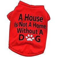 Camiseta para Mascotas,Gusspower Ropa Chaqueta Estampado de Letras Invierno para Perros