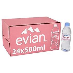Evian Still Mineral Water 500ml case of 24