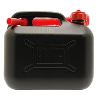 Cosmos 10L Plastic Jerry Can - Black