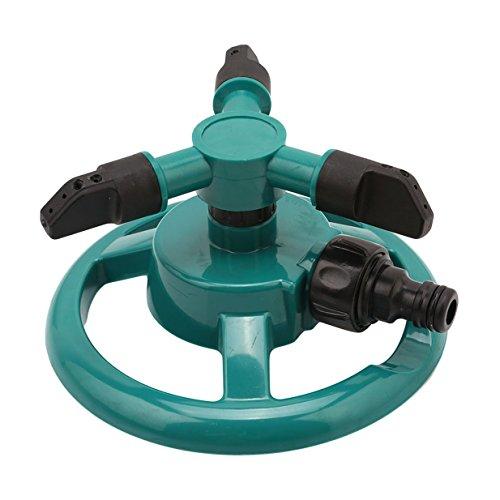 Lalang 360° Arroseur-canon rotatif irrigation de jardin, Vert