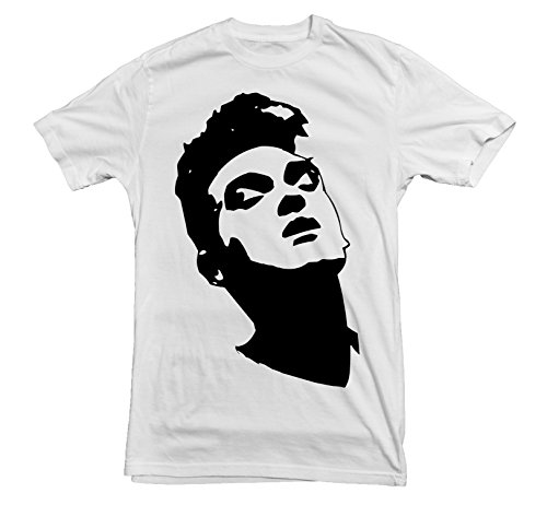 Morrissey T-shirt in 11 colours - S to 3XL