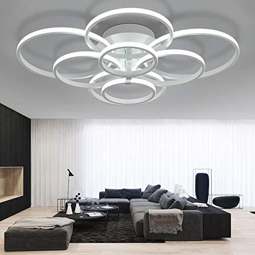 ONLT LED Moderne Plafonnier,LED panneau lumineux moderne lampe Plafonnier Lustre Bureau,LED Lampe de plafond,pour Éclairage Cuisine, Bureau,Salle À Manger, Salon et de Restaurant