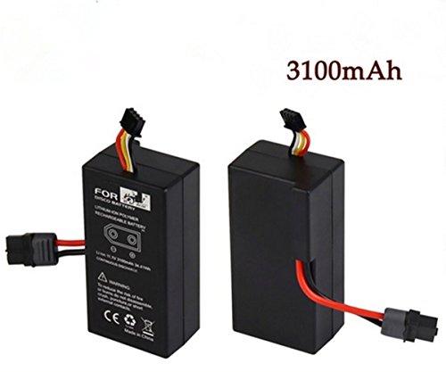 Batteria ricaricabile agli ioni di litio per UAV Parrot Disco FPV 11.1 v Batteria ricaricabile ai polimeri di litio agli ioni di litio 3100mAh (2 pezzi)