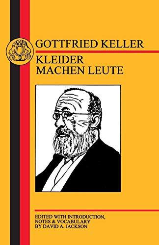 Keller: Kleider Machen Leute (German Texts)
