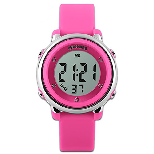 Childens-Watches-Sport-Watch-Red-Stopwatch-Function-LED-Backlight-Dial-Kids-Watches-Time-Teacher-Silicon-Strap-Boys-Girls-Watch