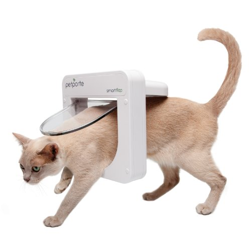 Petporte PPA00-12617 Smart Flap Chip-Katzenklappe für Wand,...