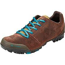 VAUDE Unisex Adults' Tvl Sykkel Mountain Biking Shoes, Brown (Bison 384), 9.5 UK