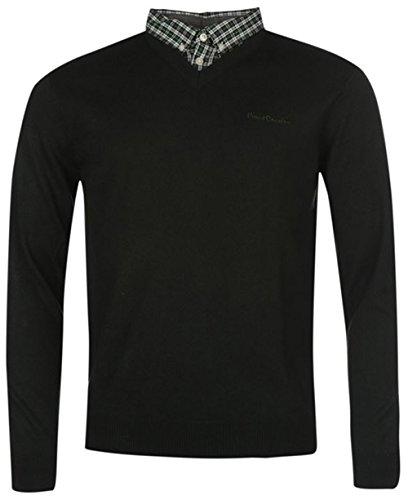 mens-knitwear-mock-v-neck-jumper-xx-large-dark-green