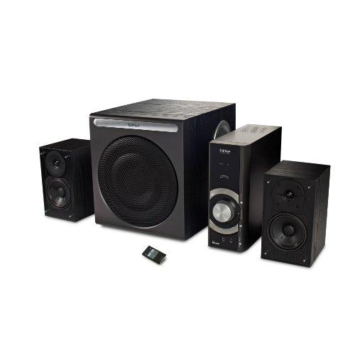 EDIFIER C3 2.1 Lautsprechersystem (46 Watt) mit Infrarot-Fernbedienung