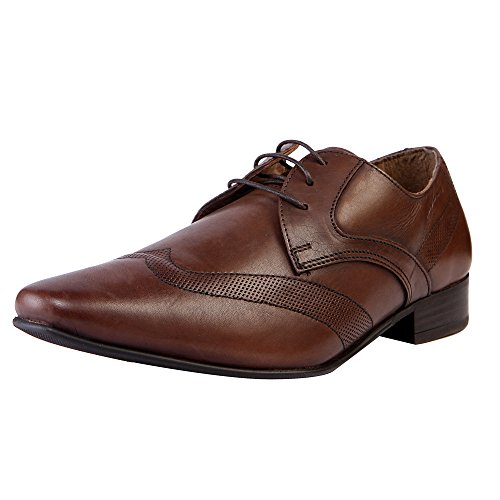 Redtape Men's Leather Formals And Lace-up Flats