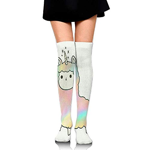 zengjiansm Hohe Socken Pad Lama Socks Womens Crew Champion Athletic Dresses Thigh Over High Knee Long Stockings 65cm
