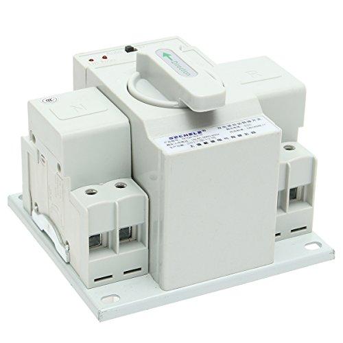 63A 2P 220V Kippschalter Home Dual Power Automatic Transfer Switch