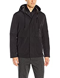 Marc New York by Andrew Marc Men's Graham Rain Tech 3 in 1 Systems Removable Quilted Jacket