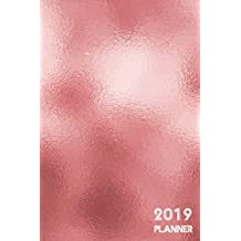 2019 Planner: Dated 365 Daily, 52 Week and Monthly Planner journal