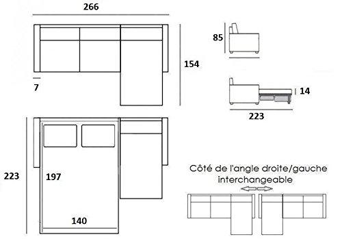 Ecksofa-skandinavischen-140-cm-Matratze-14-cm-System-Express-Lattenrost-LATTEN-renatonisi-Stoff-Tweed-taupe