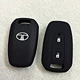 #4: Genxtra Silicone Key Cover for Tata Manza/Vista / Indigo Remote Key (2 Button)