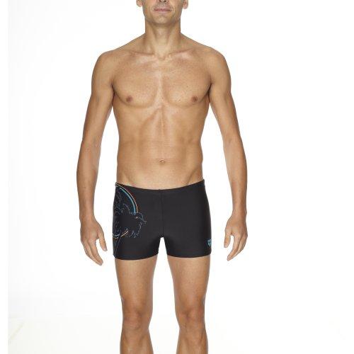 Arena maillot de bain pour homme palm Noir - noir
