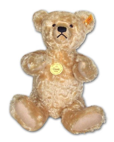 Steiff 35cm Classic 1920 Jointed Teddy Bear with Growler (Blond) by Steiff