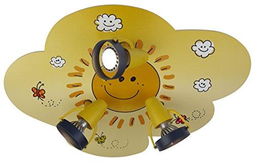 Farbe Spot (Niermann Standby 620, GU10, 35 W, 3 Spots Sunny Deckenspotleuchte