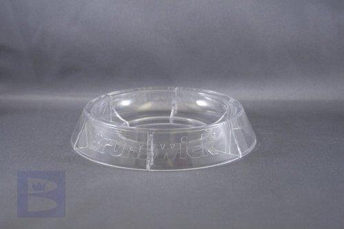 2x Brunswick Bowling Ball Ständer Teller Untersetzer Ring Stand für Vitrine, Regal