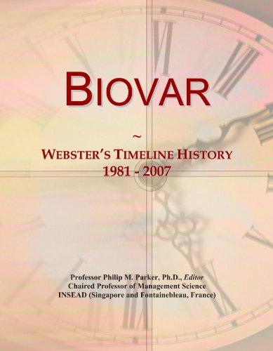 Biovar: Webster's Timeline History, 1981-2007