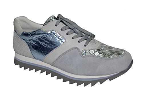 Gabor Damen sneaker 43.301.46 grigio grau/kombi