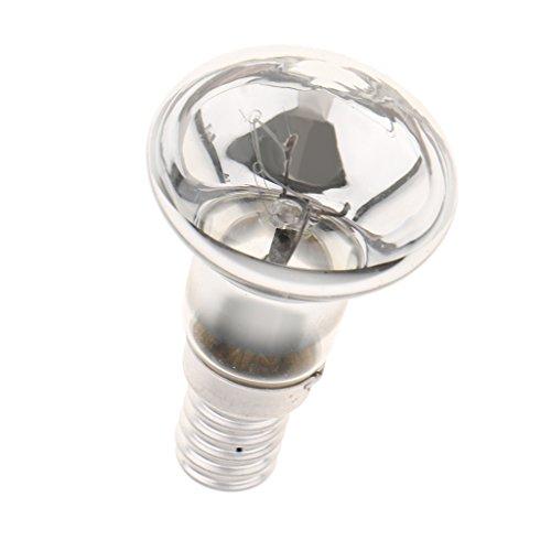 Sharplace Ampoules à Réflecteur 25W SES R39 E14 Lumière Décoration pour Chambre Salon Café Hôtel Argent