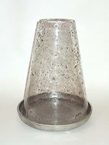 PTMD Windlicht Stone Glas 33 cm