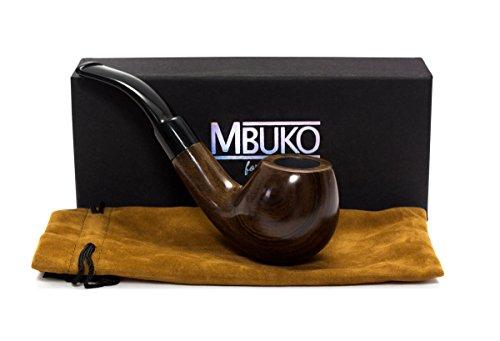 MBUKO Tabakpfeife - Handgemachte klassische Pfeife aus edlem Holz für Einsteiger und Fortgeschrittene