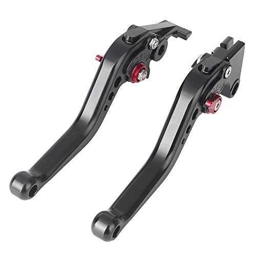 GZYF Short Motorcycle Brake and Clutch Levers for YAMAHA YZF-R1 2002-2003