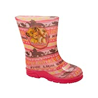 Girls Official Disney Lion King Wellies Wellington RAIN Snow Boots UK Size 6-12