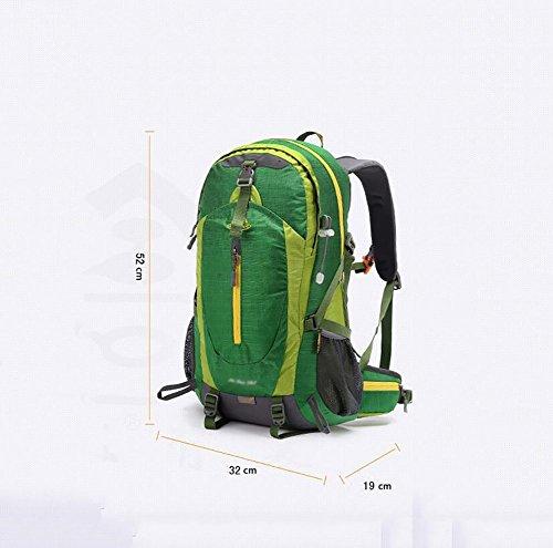 HWLXBB Outdoor Bergsteigen Tasche Man And Lady Mehrzweck-Bergsteigen Tasche Wandern Camping Bergsteigen Rucksack 3*