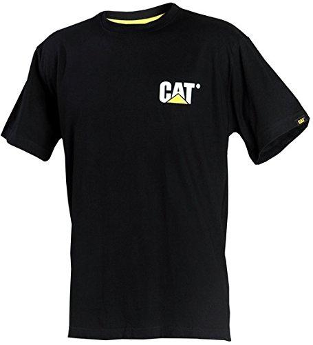 Caterpillar CAT C324 100% Cotton Tee Shirt Noir