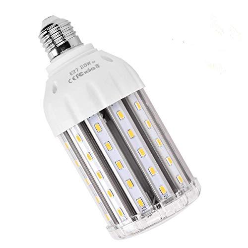 LED E27 Mais Birne Beleuchtung, SanGlory 25W LED Lampe Maiskolben E27 Warmweiß 3000K für 200W Glühlampe 360° LED Leuchtmittel Energiesparlampe Sehr Hell für Garage Fabriklager Werkstatt Helles Licht