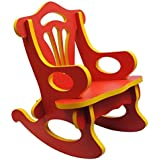 Raytrees Wooden Kids' Rocking Chair (Red)