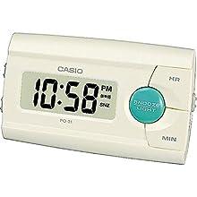 Casio Collection Wake Up Timer Digital Alarm Clock PQ-31-7EF