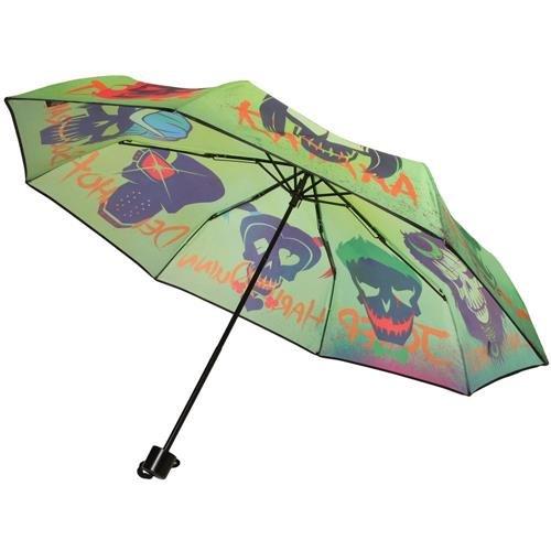 Officiel DC Suicide Squad crânes pliage parapluie - Womens Mesdames accessoires